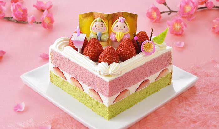 ひなまつりケーキ コージーコーナー 2020 レインボーユニコーン 予約 ひなおうぎ
