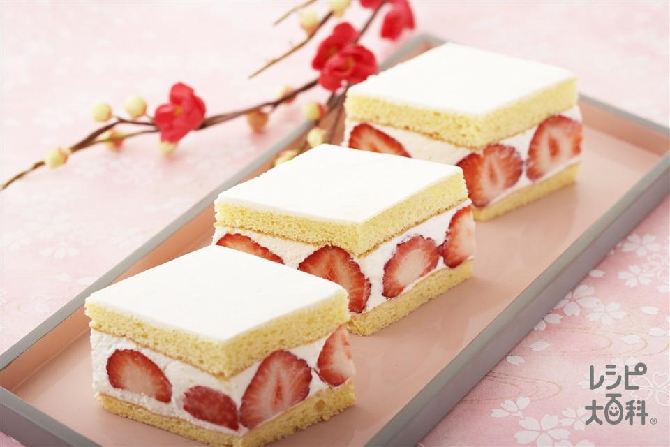 ひな祭りケーキ レシピ 2020