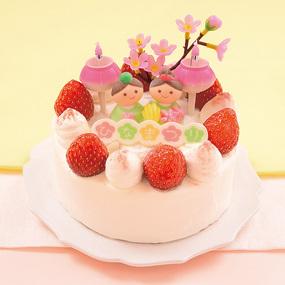 ひな祭りケーキ 簡単レシピ 2020
