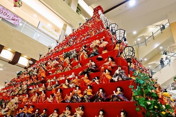 ひな祭りイベント 埼玉 ・川越・鴻巣 グルメ・スイーツ・カフェ鴻巣びっくりひな祭り2020