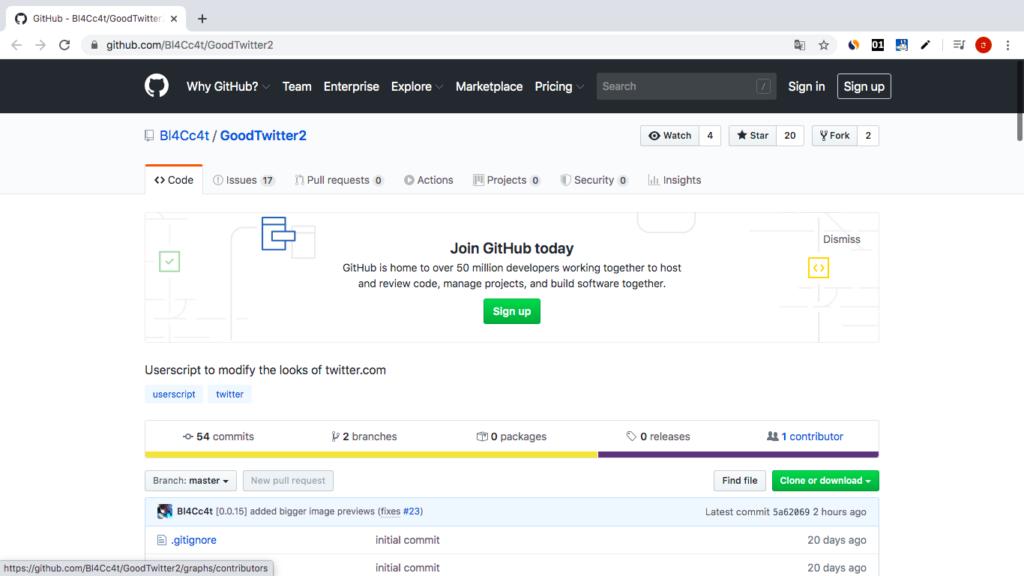 GoodTwitter2使い方 Chrome拡張機能インストール方法