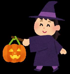 ハロウィンイラストかわいい無料【女の子/猫/お菓子】まとめ