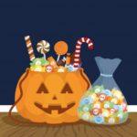 ハロウィンお菓子入れを手作りしよう紙コップ牛乳パック折り紙で簡単かぼちゃ