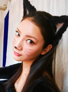 ハロウィンメイク【猫メイクのやり方】おすすめ猫目カラコン&メイク道具